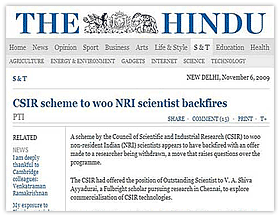 Innovation Demands Freedom: Article in The Hindu